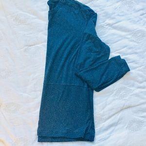 Men's long sleeve Lululemon Navy tee size XL